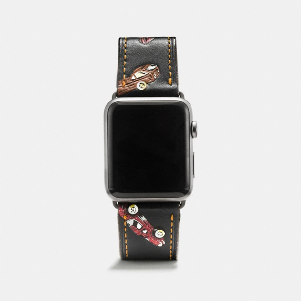 APPLE WATCH® STRAP WITH CAR PRINT