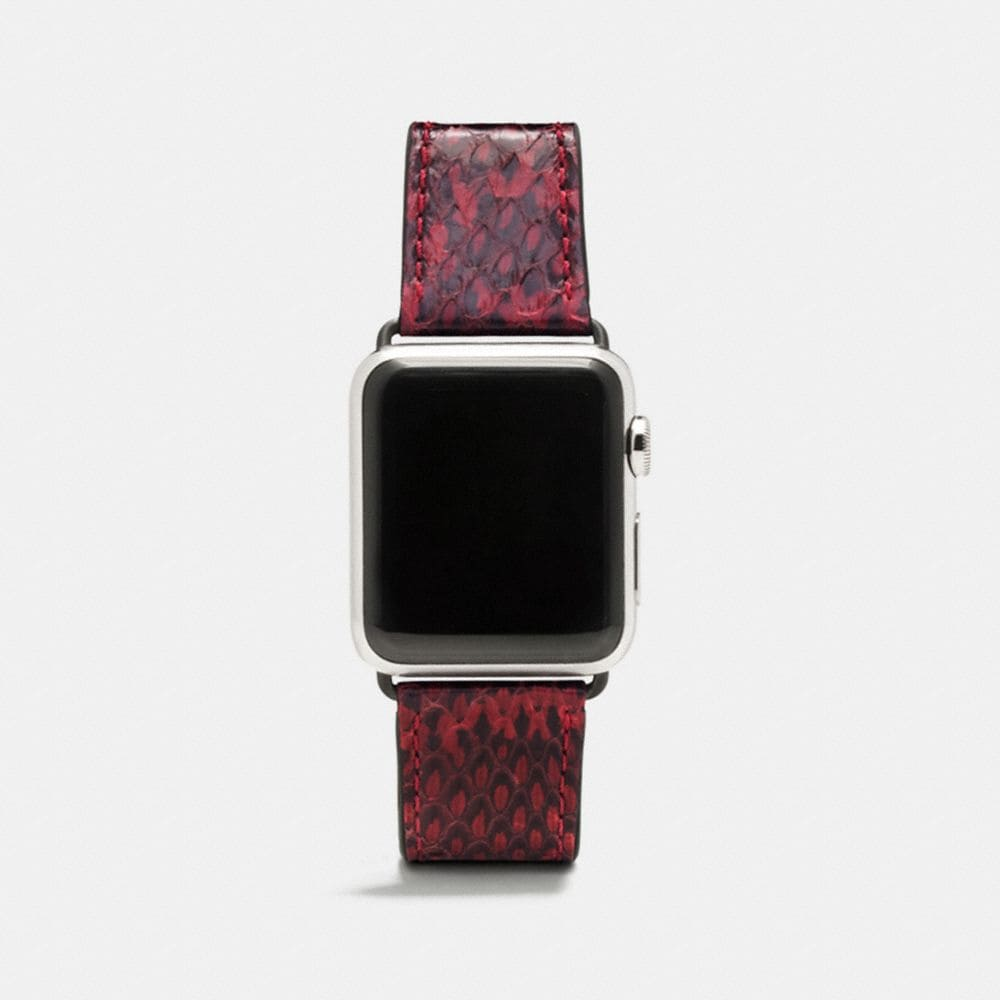 BRACELET APPLE WATCH® EN SERPENT