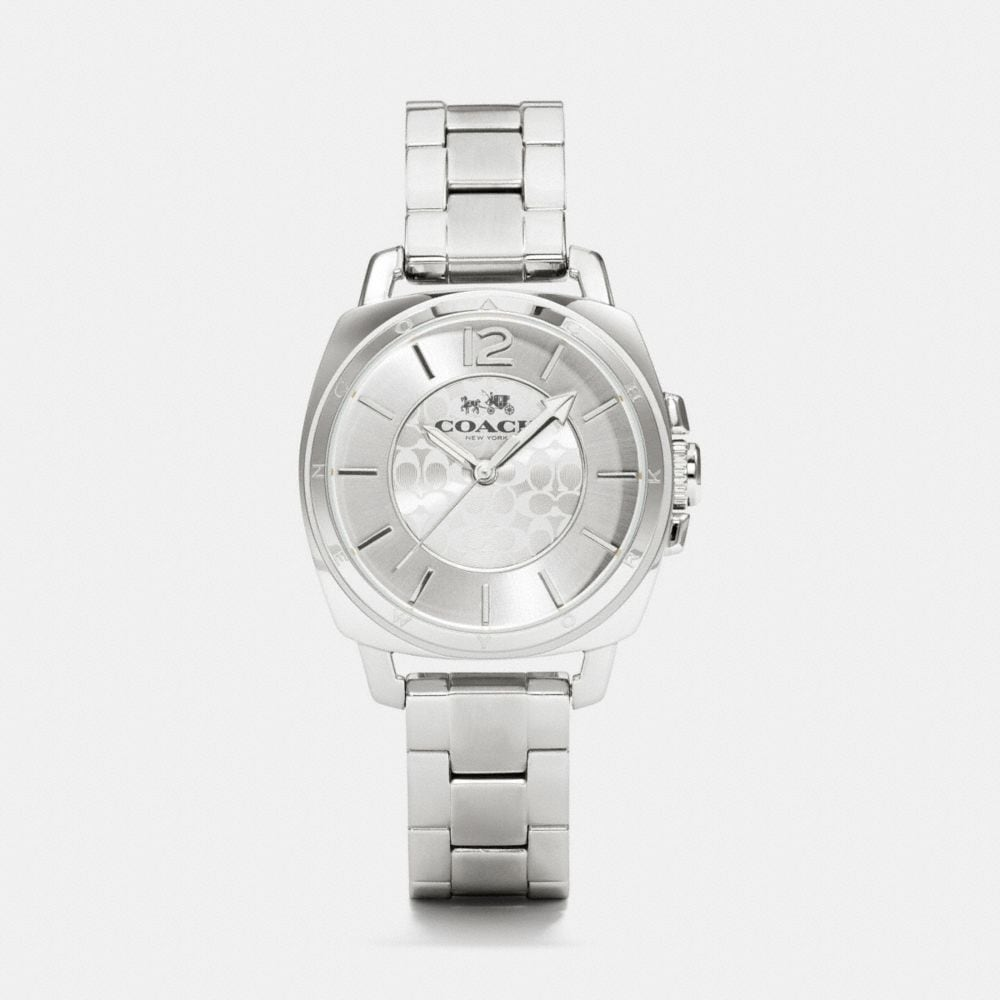 BOYFRIEND SMALL STAINLESS STEEL BRACELET WATCH