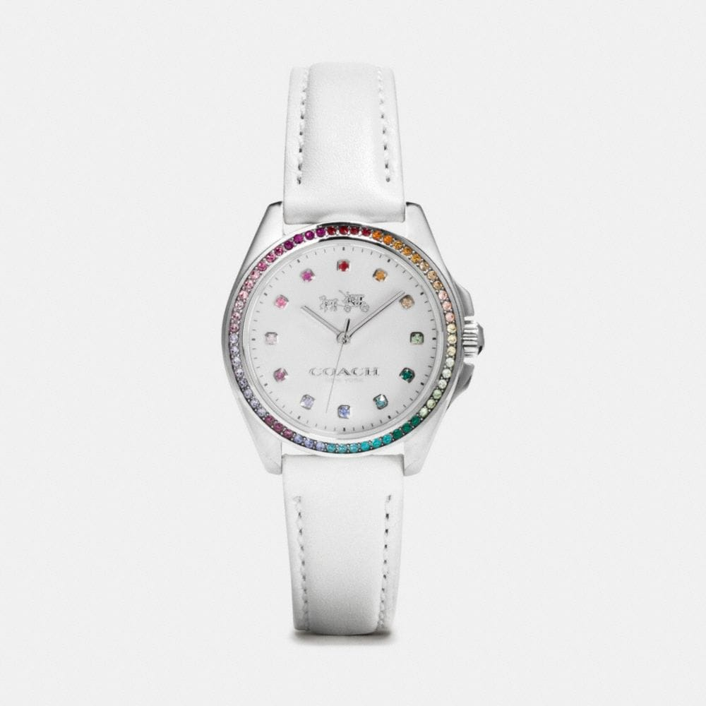 TRISTEN RAINBOW STAINLESS STEEL STRAP WATCH