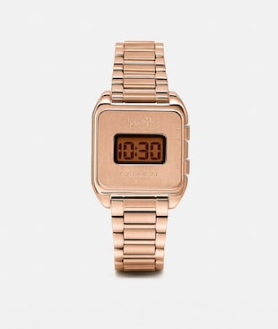 DARCY DIGITAL WATCH, 30MM X 37MM
