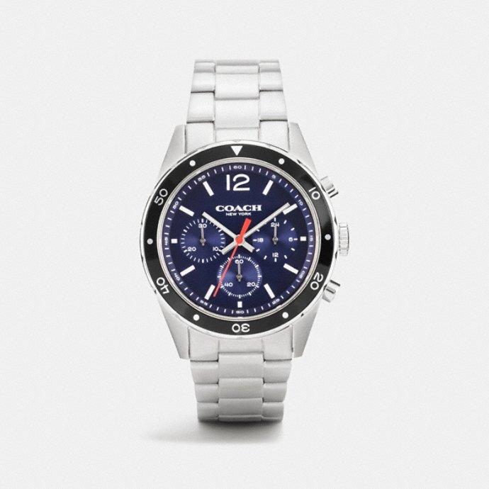 coach men s watches sullivan sport stainless steel chrono bracelet watch