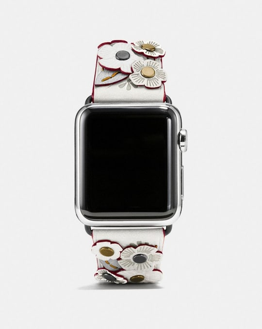 APPLE WATCH® STRAP WITH TEA ROSE, 38MM